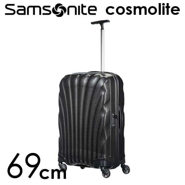 サムソナイト コスモライト 3.0 69cm ブラック Cosmolite V22-09-306【送料無料】※北海道・沖縄・離島を除く