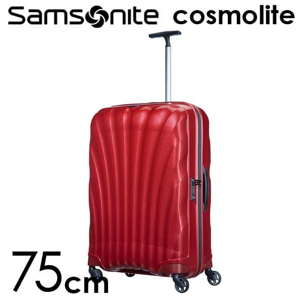 サムソナイト コスモライト 3.0 75cm レッド Cosmolite V22-00-304【送料無料】※北海道・沖縄・離島を除く