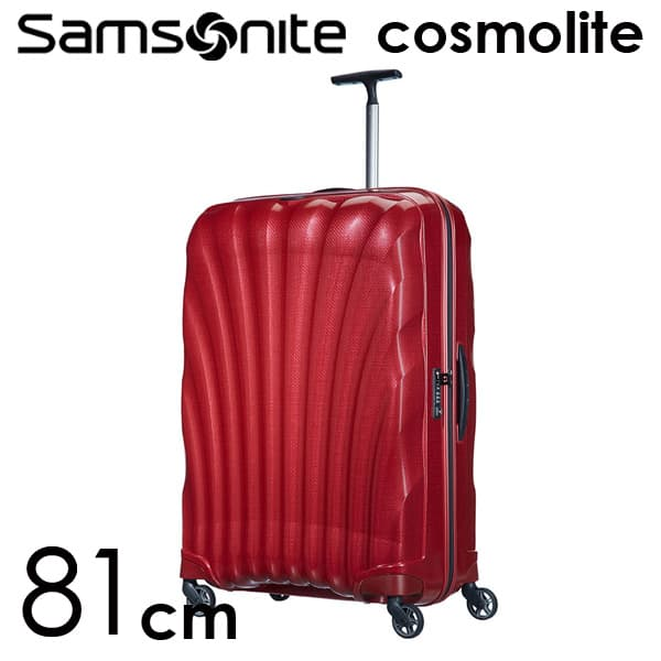 サムソナイトコスモライト3.0 スピナー 81cm レッド Samsonite Cosmolite 3.0 Spinner V22-00-307 123L【送料無料】