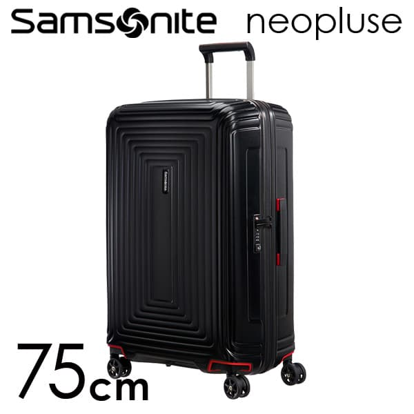 サムソナイト ネオパルス スピナー 75cm マットブラック Samsonite Neopulse Spinner 94L 65754-4386【送料無料】