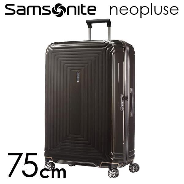 サムソナイト ネオパルス スピナー 75cm メタリックブラック Samsonite Neopulse Spinner 94L 65754-2368