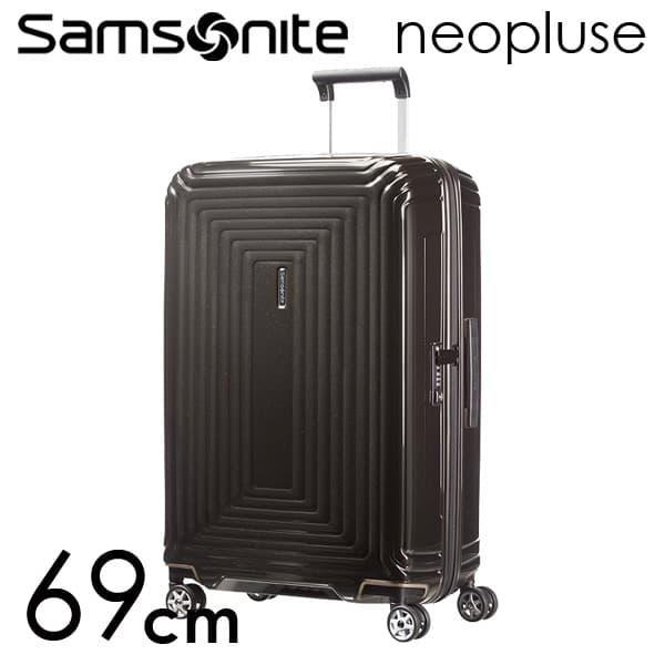 サムソナイト ネオパルス スピナー 69cm メタリックブラック Samsonite Neopulse Spinner 74L 65753-2368【送料無料】