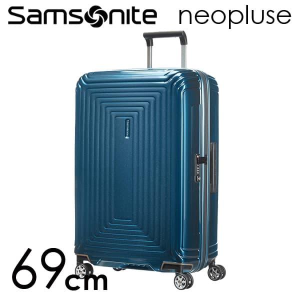『期間限定ポイント10倍』サムソナイト ネオパルス スピナー 69cm メタリックブルー Samsonite Neopulse Spinner 74L 65753-1541【送料無料】