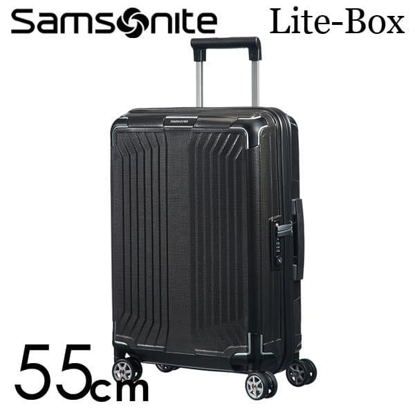 サムソナイト ライトボックス スピナー 55cm ブラック Samsonite Lite-Box Spinner 38L 79297【送料無料】