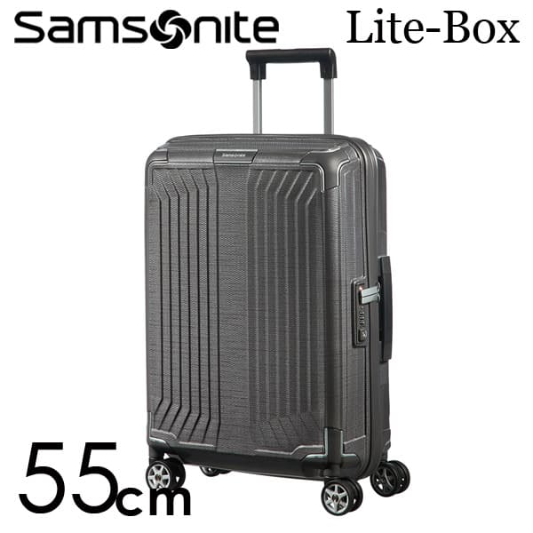 サムソナイト ライトボックス スピナー 55cm エクリプスグレー Samsonite Lite-Box Spinner 38L 79297【送料無料】
