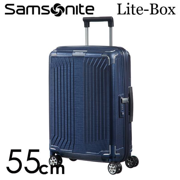 『期間限定ポイント10倍』サムソナイト ライトボックス スピナー 55cm ディープブルー Samsonite Lite-Box Spinner 38L 79297【送料無料】