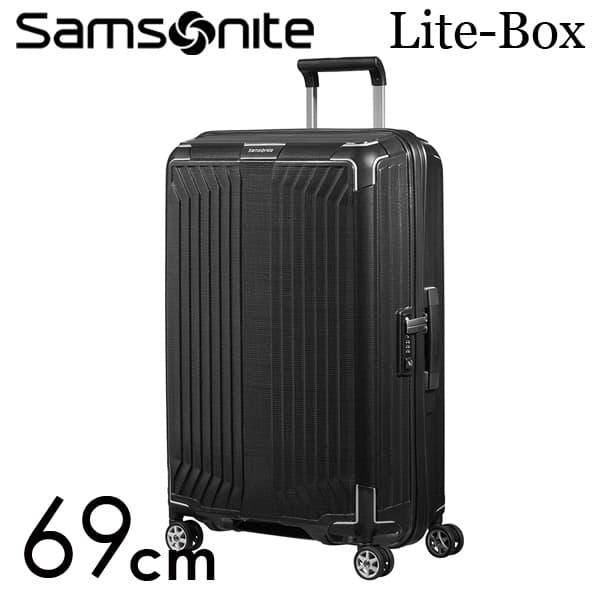 サムソナイト ライトボックス スピナー 69cm ブラック Samsonite Lite-Box Spinner 75L 79299【送料無料】