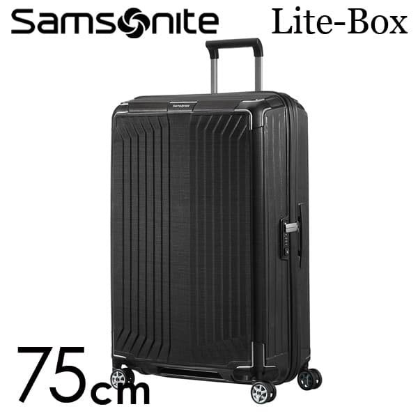 『期間限定ポイント10倍』サムソナイト ライトボックス スピナー 75cm ブラック Samsonite Lite-Box Spinner 100L 79300【送料無料】