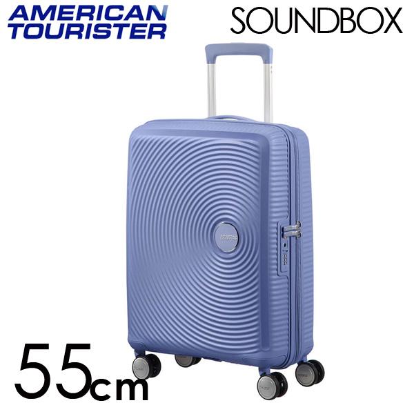サムソナイト アメリカンツーリスター サウンドボックス 55cm デニムブルー Tourister American 55cm Tourister Sound Box Spinner Spinner 35L~41L EXP【送料無料】※北海道・沖縄・離島を除く, ベジフルプラザ:6d74bdf7 --- sunward.msk.ru