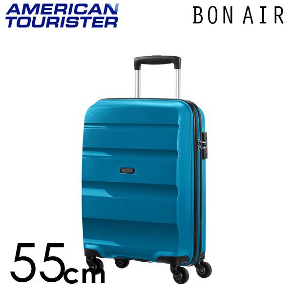 サムソナイト アメリカンツーリスター ボンエアー 55cm シーポートブルー American Tourister Bon Air Spinner 31.5L【送料無料】※北海道・沖縄・離島を除く