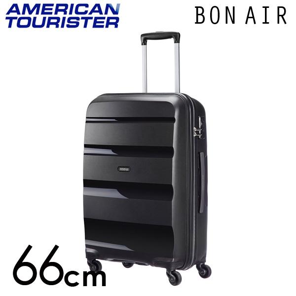 サムソナイト アメリカンツーリスター ボンエアー 66cm ブラック American Tourister Bon Air Spinner 57.5L【送料無料】