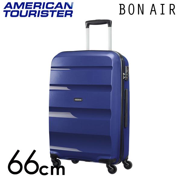 サムソナイト アメリカンツーリスター ボンエアー 66cm ミッドナイトネイビー American Tourister Bon Air Spinner 57.5L【送料無料】