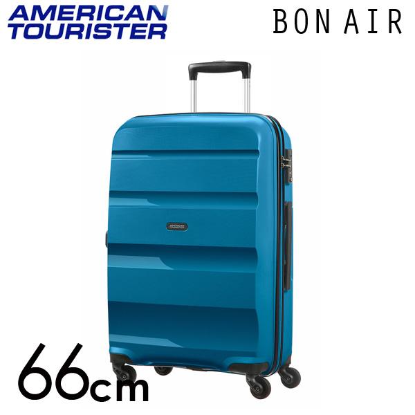 サムソナイト アメリカンツーリスター ボンエアー 66cm シーポートブルー American Tourister Bon Air Spinner 57.5L【送料無料】