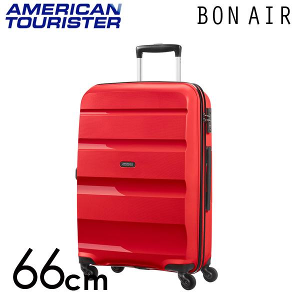 サムソナイト アメリカンツーリスター ボンエアー 66cm マグマレッド American Tourister Bon Air Spinner 57.5L【送料無料】