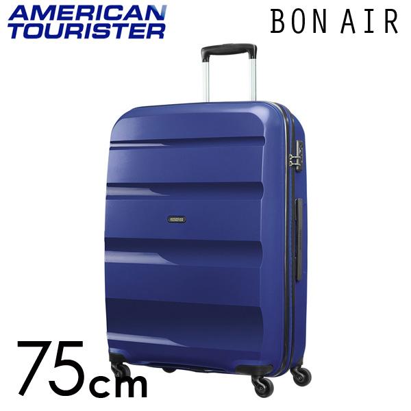 サムソナイト アメリカンツーリスター ボンエアー 75cm ミッドナイトネイビー American Tourister Bon Air Spinner 91L【送料無料】※北海道・沖縄・離島を除く