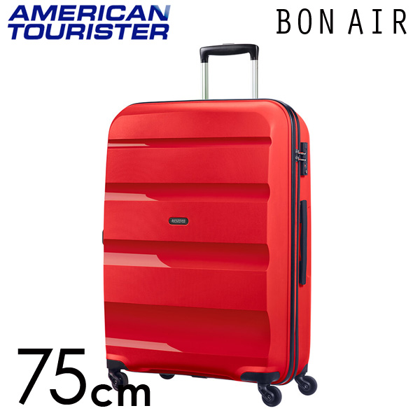 サムソナイト アメリカンツーリスター ボンエアー 75cm マグマレッド American Tourister Bon Air Spinner 91L【送料無料】※北海道・沖縄・離島を除く