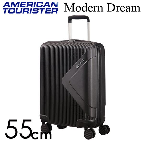 サムソナイト アメリカンツーリスター モダンドリーム 55cm ユニバースブラック American Tourister Modern Dream Spinner 35L【送料無料】※北海道・沖縄・離島を除く