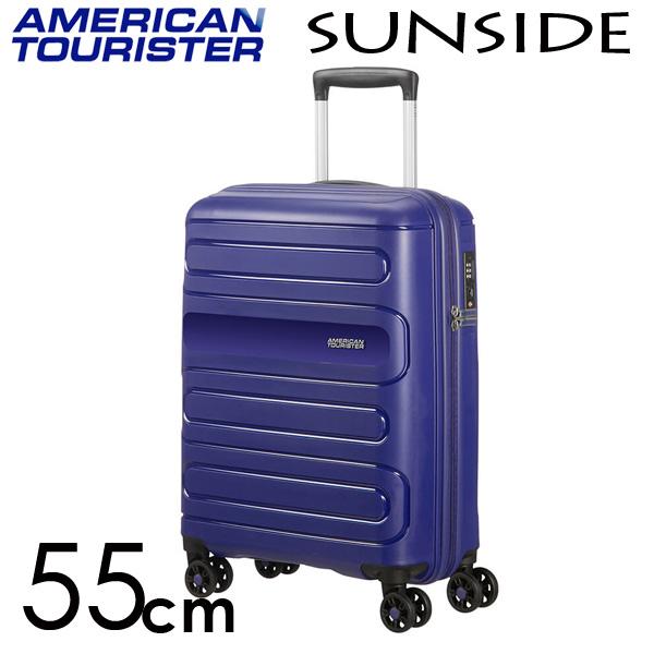 サムソナイト アメリカンツーリスター サンサイド 55cm ネイビー American Tourister Sunside Spinner 35L【送料無料】※北海道・沖縄・離島を除く