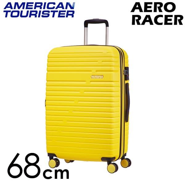 サムソナイト アメリカンツーリスター エアロレーサー スピナー 68cm レモンイエロー Samsonite American Tourister Aero Racer Spinner 66.5L~75.5L EXP 116989-B038【送料無料】