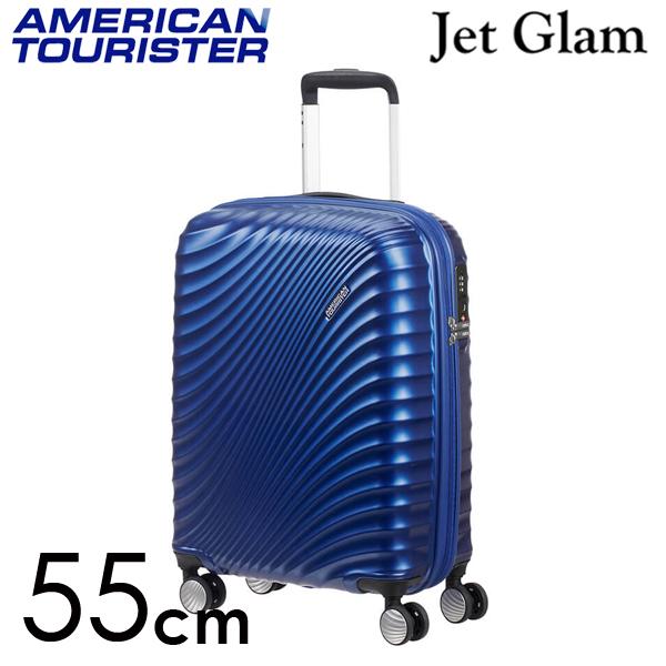 サムソナイト アメリカンツーリスター ジェットグラム 55cm メタリックブルー Jetglam 35.5L