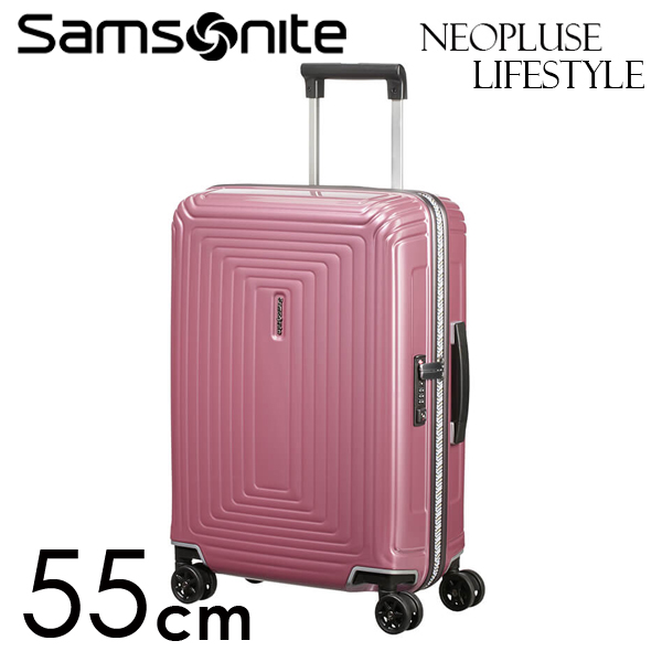サムソナイト ネオパルス ライフスタイル 55cm メタリックローズ Neopulse LifeStyle 38L 105677-2647