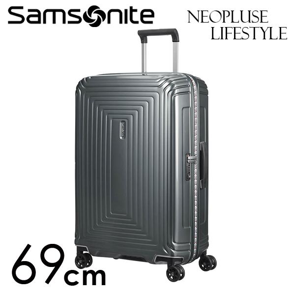 サムソナイト ネオパルス ライフスタイル 69cm メタリックグレー Neopulse LifeStyle 74L 105679-1543