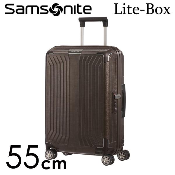 サムソナイト ライトボックス スピナー 55cm ウォールナット Samsonite Lite-Box Spinner 38L 79297-1902【送料無料】