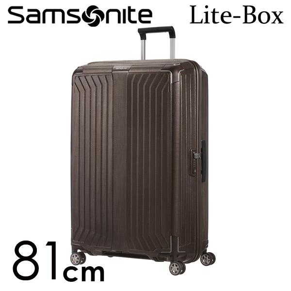 サムソナイト ライトボックス スピナー 81cm ウォールナット Samsonite Lite-Box Spinner 124L 79301-1902【送料無料】