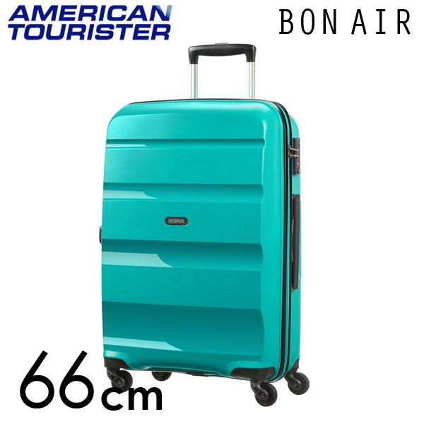 サムソナイト アメリカンツーリスター ボンエアー 66cm ディープターコイズ American Tourister Bon Air Spinner 57.5L 59423-4517【送料無料】