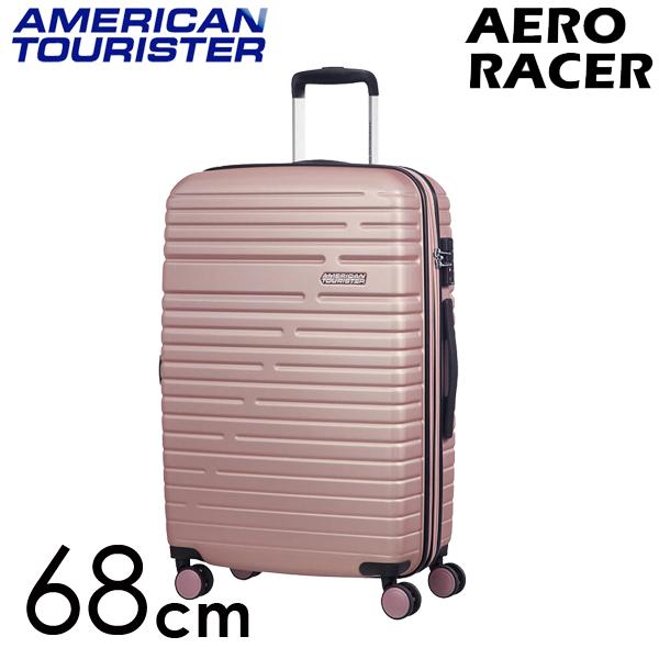 サムソナイト アメリカンツーリスター エアロレーサー 68cm ローズピンク Samsonite American Tourister Aero Racer Spinner 66.5L~75.5L 116989-7475【送料無料】