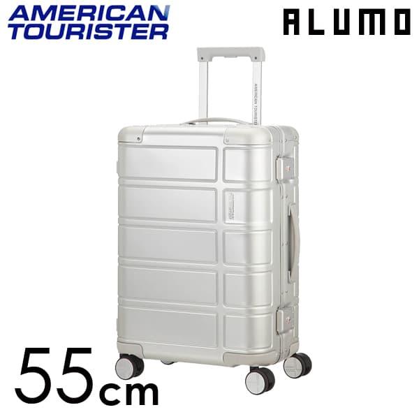 サムソナイト アメリカンツーリスター アルモ 55cm シルバー ALUMO Silver 34L【送料無料】