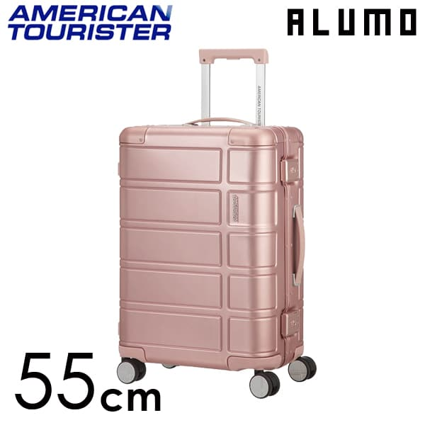 サムソナイト アメリカンツーリスター アルモ 55cm ローズ ALUMO Rose 34L【送料無料】