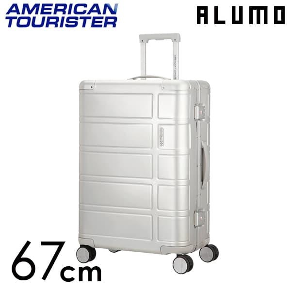 サムソナイト アメリカンツーリスター アルモ 67cm シルバー ALUMO Silver 64L【送料無料】