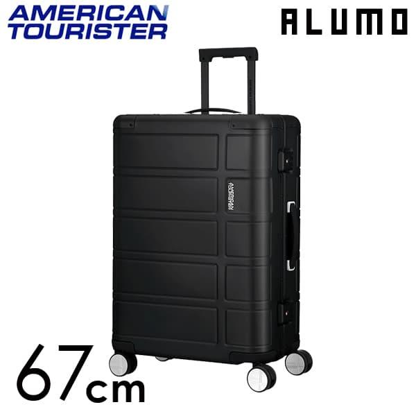 サムソナイト アメリカンツーリスター アルモ 67cm ブラック ALUMO Black 64L【送料無料】