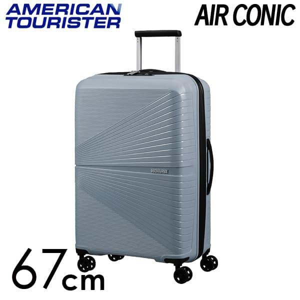 サムソナイト アメリカンツーリスター エアーコニック 67cm クールグレー AIRCONIC Cool Grey 67L【送料無料】