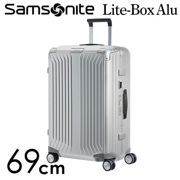サムソナイト ライトボックス アル スピナー 69cm アルミニウム Samsonite Lite Box Alu Spinner 71L 122706-1004【送料無料】