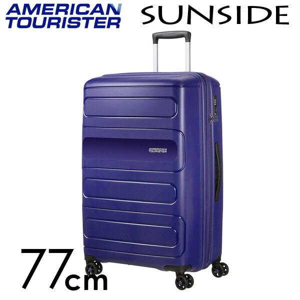 『期間限定ポイント10倍』サムソナイト アメリカンツーリスター サンサイド 77cm ネイビー American Tourister Sunside Spinner 106L~118L EXP【送料無料】