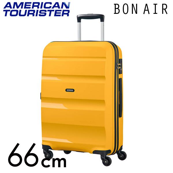 『期間限定ポイント10倍』サムソナイト アメリカンツーリスター ボンエアー 66cm ライトイエロー American Tourister Bon Air Spinner 57.5L 59423-2347【送料無料】