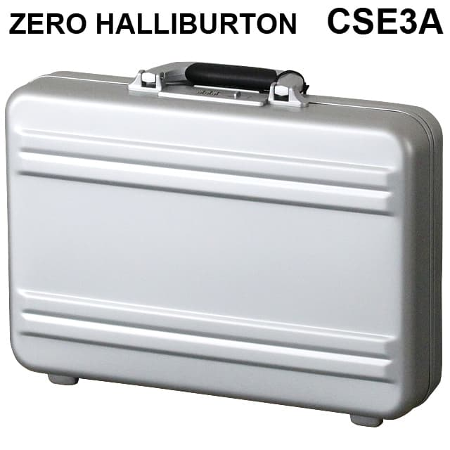 ゼロハリバートン ZERO HALLIBURTON SLシリーズ スリムラインシリーズ2 アタッシュケース シルバー B4対応 94351 CSE3A-SI【送料無料】※北海道・沖縄・離島を除く