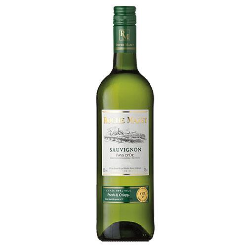 青リンゴやハーブの爽やかなアロマを感じられるワイン KK 白ワイン ロシュマゼ 750ml×12本 特価品コーナー☆ 送料無料 ソーヴィニョンブラン 返品不可