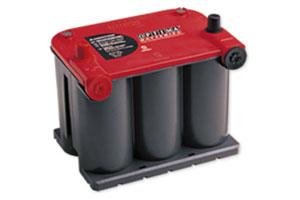 RTU-3.7L 8022-255 オプティマバッテリー RED TOP レッドトップ Rタイプ サイドターミナル 適合:D23R/北米車 925U OPTIMA【取寄商品】