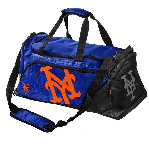 BAG137)MLB New York Mets Medium Locker Room ダッフルバック☆US購入LANYストリートカジュアルスポーツダンサーバイク【送料無料】