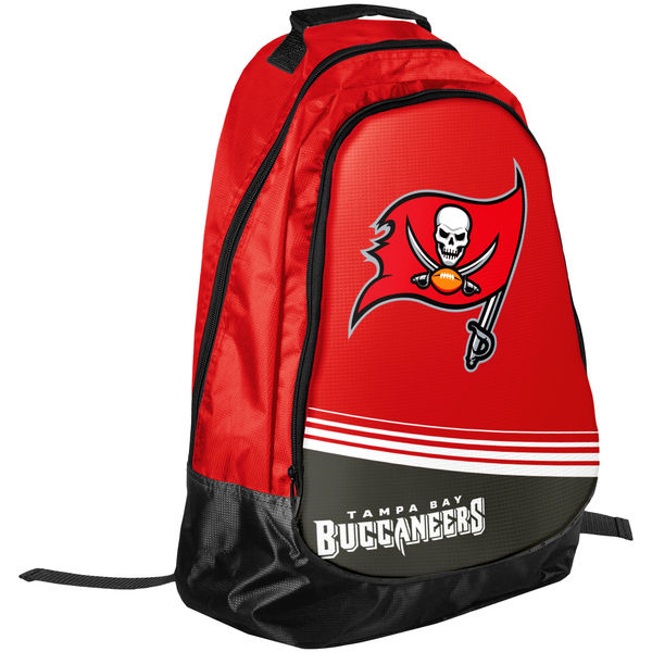 BAG179)NFL Tampa Bay Buccaneers Stripe Core Backpackバックパック リュック☆US購入LANYストリートカジュアルスポーツダンサーバイク【送料無料】