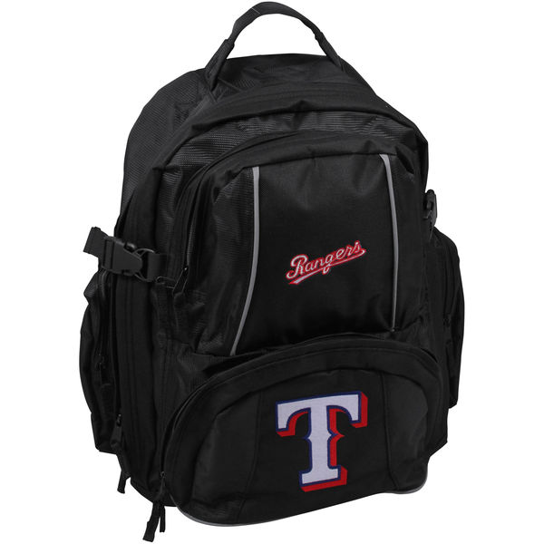 BAG196)MLB Texas Rangers No Straps Trooper Backpack バックパック リュック☆US購入LANYストリートカジュアルスポーツダンサーバイク【送料無料】