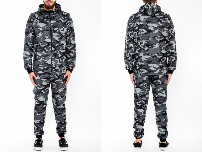 AT35)HUDSON OUTERWEAR セットアップ★US購入B系HIPHOPストリートセレブ【送料無料】