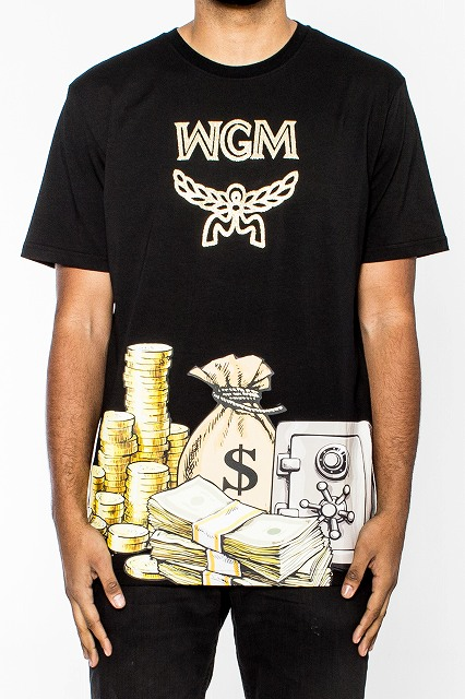 HUDSON NYC OUTERWEAR WGM MONEY Tシャツ半袖(H1051448)/AU45★USLANYカジュアルストリートHIPHOPB系【送料無料】