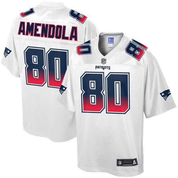 NFL Pro Line Danny Amendola New England Patriots NFLフットボールゲームシャツ/AV64/ニューイングランド・ペイトリオッツ/白/S/2XL/大きいサイズ/キングサイズ/USサイズ【送料無料】