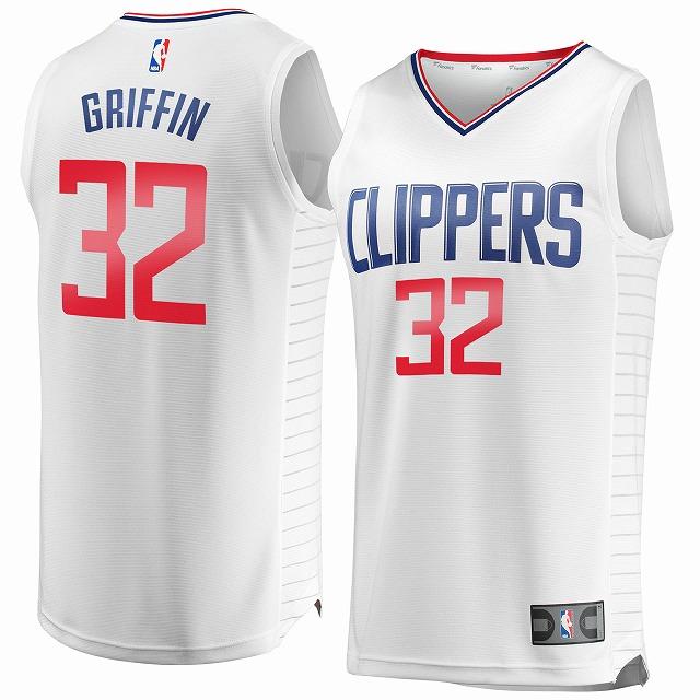 Fanatics Branded Blake Griffin LA Clippers /NBA/ロサンゼルス・クリッパーズ/ ゲームシャツ/4XL/AV89/大きいサイズ/キングサイズ/USサイズ【送料無料】