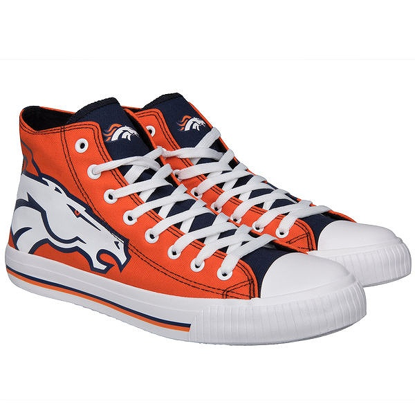 Forever Collectibles Denver Broncos Big Logo High Top Sneakersスニーカー/デンバー・ブロンコス/NFL/28cm/SN559【送料無料】