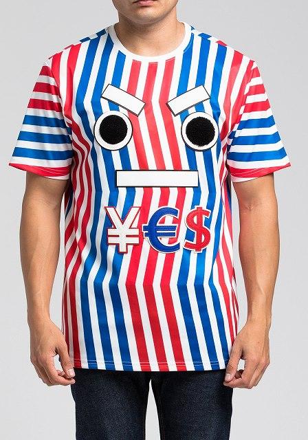 HUDSON NYC OUTERWEAR YES Tシャツ半袖(H1052206)/AW52/S/M/L/L/XL/2XL/3XL/4XL★USLANYカジュアルストリートHIPHOPB系大きいサイズキングサイズ【送料無料】